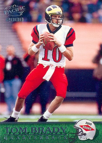 2000 Pacific Tom Brady RC