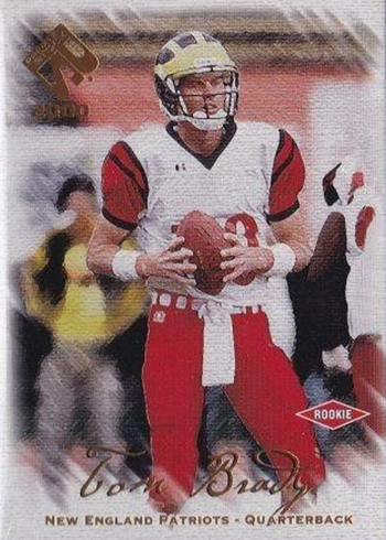 2000 Private Stock Tom Brady RC
