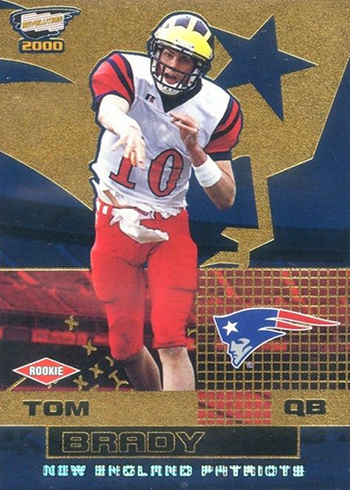 2000 Revolution Tom Brady RC