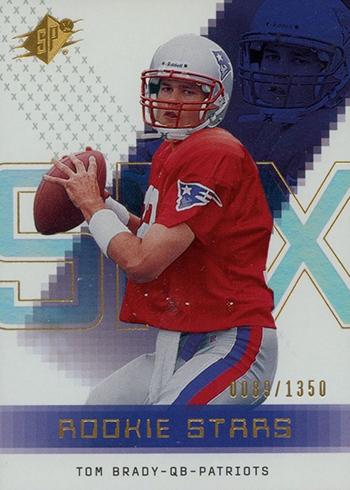 2000 SPx Tom Brady RC