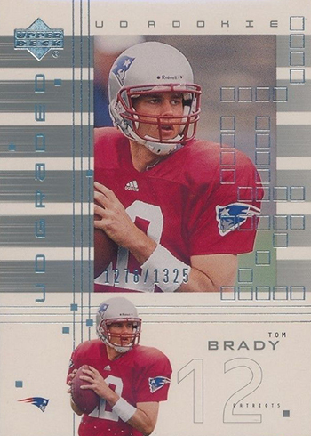 2000 UD Graded Tom Brady RC