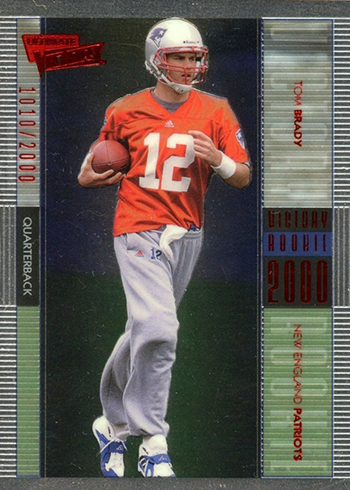 2000 Ultimate Victory Tom Brady RC