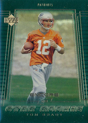 2000 Upper Deck Encore Tom Brady