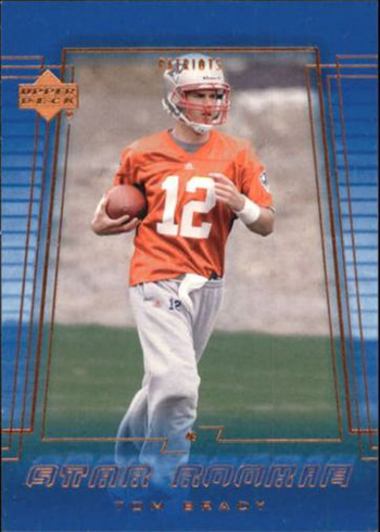 2000 Upper Deck Tom Brady RC