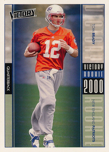 2000 Upper Deck Victory Tom Brady RC