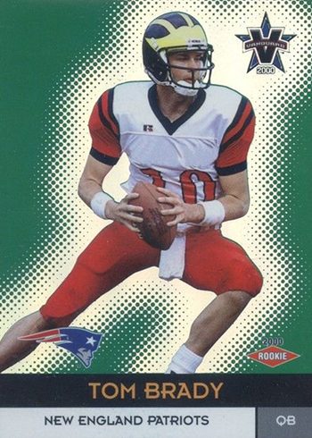 2000 Vanguard Tom Brady RC