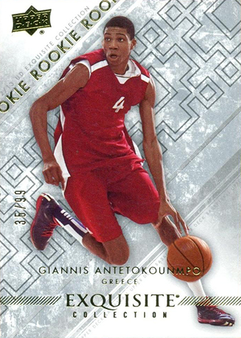 2012-13 Exquisite Collection Giannis Antetokounmpo R2