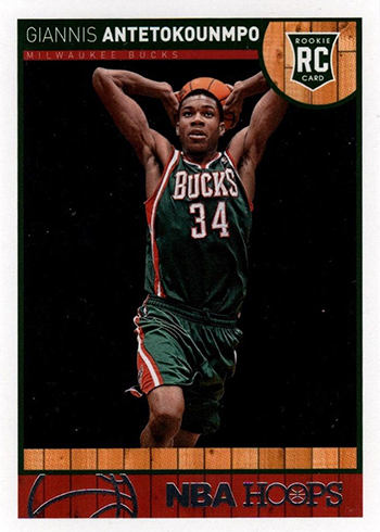 2013-14 Hoops Giannis Antetokounmpo RC
