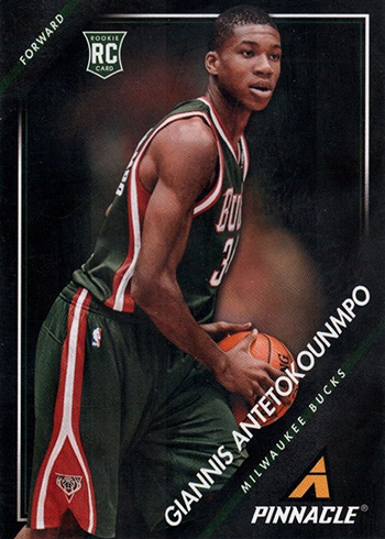 2013-14 Pinnacle Giannis Antetokounmpo RC