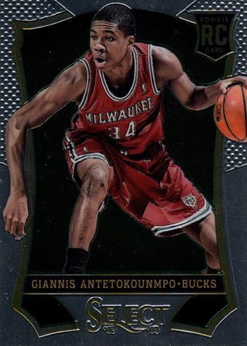 2013-14 Select Giannis Antetokounmpo RC