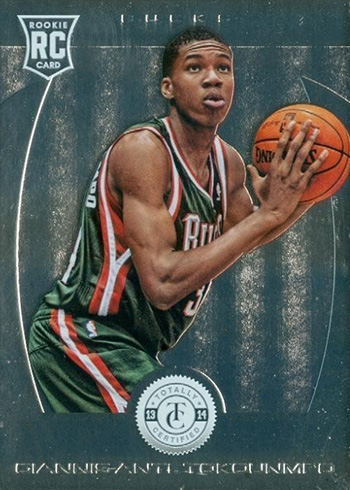 2013-14 Totally Certified Giannis Antetokounmpo RC