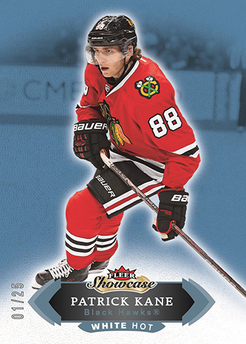 2016-17 Fleer Showcase White Hot Patrick Kane