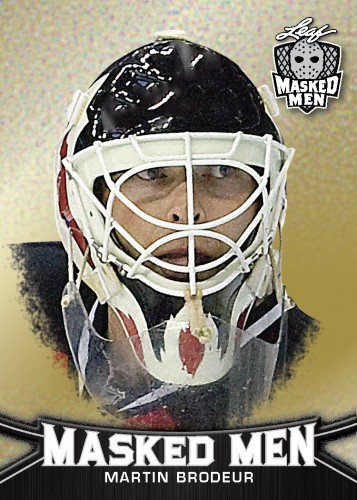 2016-17 Leaf Masked Men Hockey Martin Brodeur
