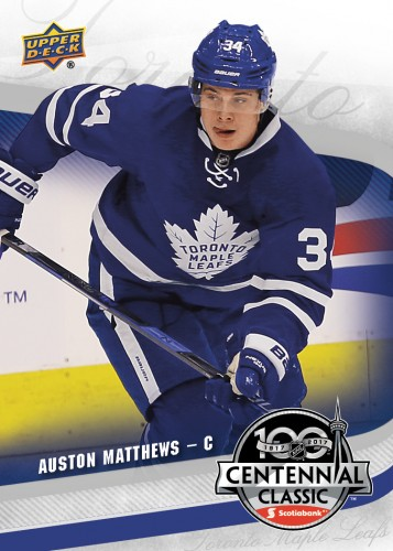 2016-17-NHL-Upper-Deck-Toronto-Maple-Leafs-Centennial-Auston-Matthews