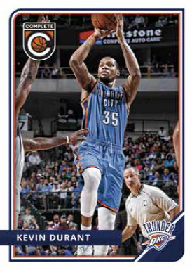 2016-17 Panini Complete Basketball Kevin Durant