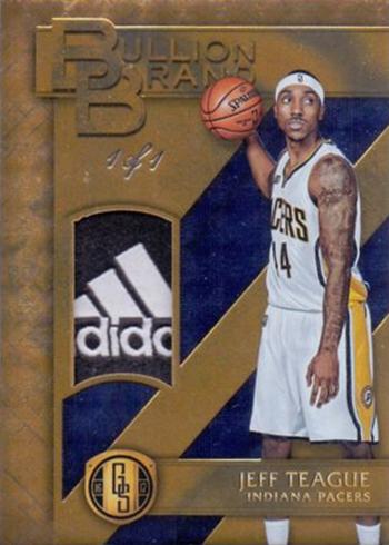 2016-17 Panini Gold Standard Basketball Bullion Brand Tag