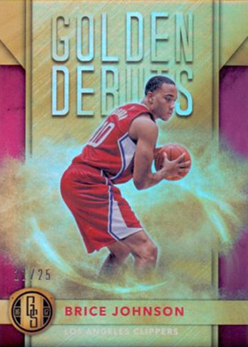 2016-17 Panini Gold Standard Basketball Golden Debuts Brice Johnson