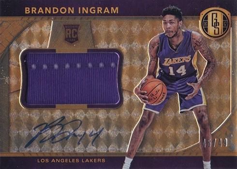 2016-17 Panini Gold Standard Basketball Rookie Jersey Jumbo Relic Brandon Ingram