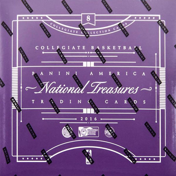 2016-17 Panini National Treasures Collegiate Basketball Box