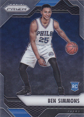 2016-17 Panini Prizm Base Ben Simmons RC