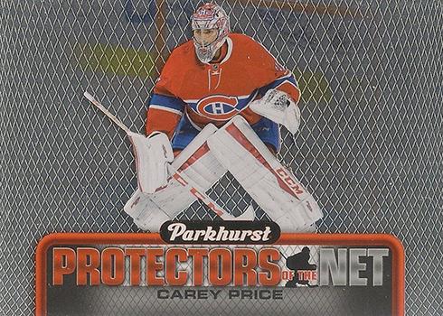 2016-17 Parkhurst Hockey Protectors of the Net Carey Price