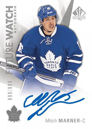 2016-17 SP Authentic Hockey Mitch Marner Future Watch Autograph