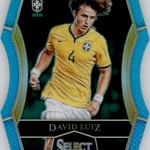 2016-17 Select Soccer Light Blue Die Cut Luiz