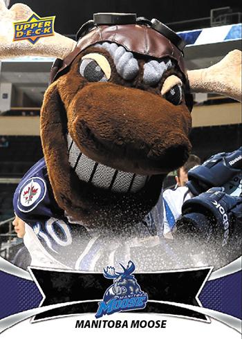 2016-17 Upper Deck AHL Manitoba Moose