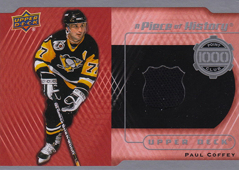 5696a20f8 2016-17 Upper Deck Series 1 Hockey A Piece of History 1000 Point Club