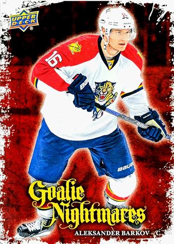 2016-17 Upper Deck Series 1 Hockey Goalie Nightmares Barkov