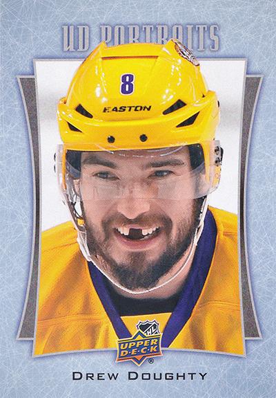 2016-17 Upper Deck Series 1 Hockey UD Potraits Jumbo Drew Doughty