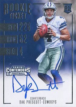 2016 Contenders Football 307 Dak Prescott feature
