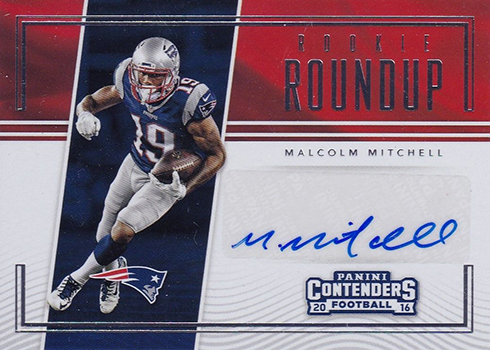 2016 Contenders Football Rookie Roundup Autographs Malcolm Mitchell