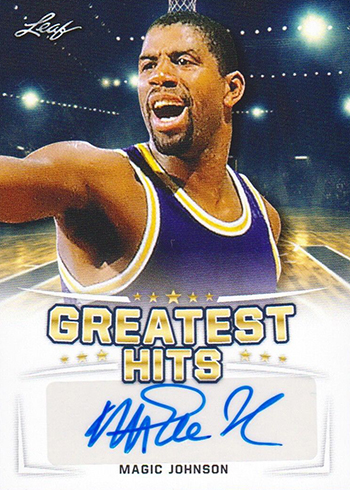 2016 Leaf Greatest Hits Basketball Magic Johnson Autograph