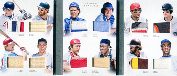 2016 National Treasures Baseball 12 Player Booklet Prime