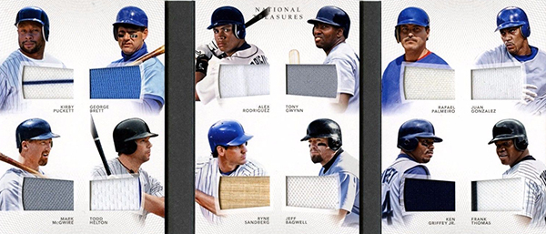 2016 National Treasures Baseball 12 Player Booklet