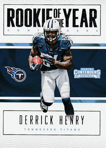 2016 Panini Contenders Football Rookie of the Year Contenders Derrick Henry