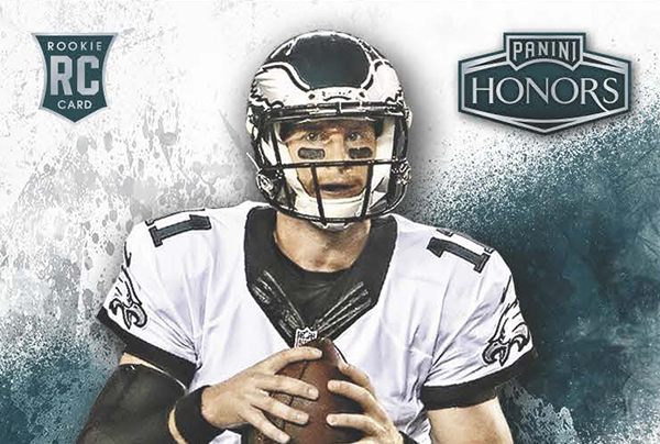2016 Panini Honors Football Rookie Autographs Header