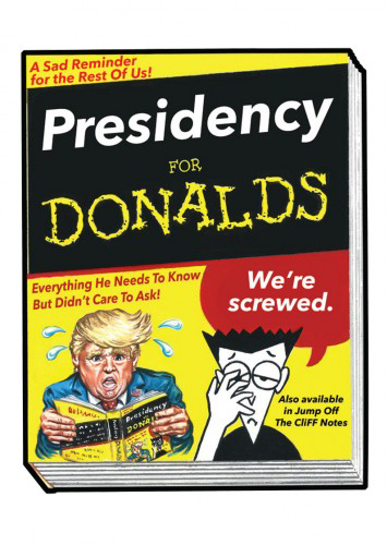 2016 Topps Garbage Pail Kids Dis-grace to the White House 129 Presidency for Donalds