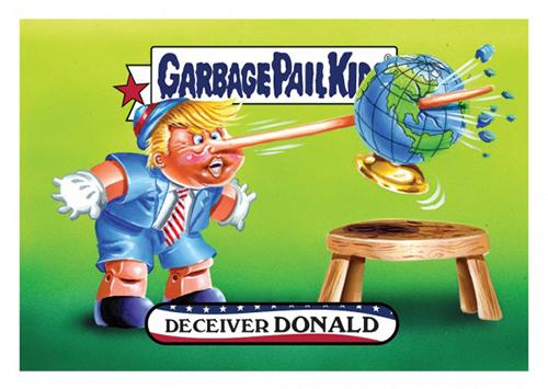 2016 Topps Garbage Pail Kids Dis-grace to the White House 138
