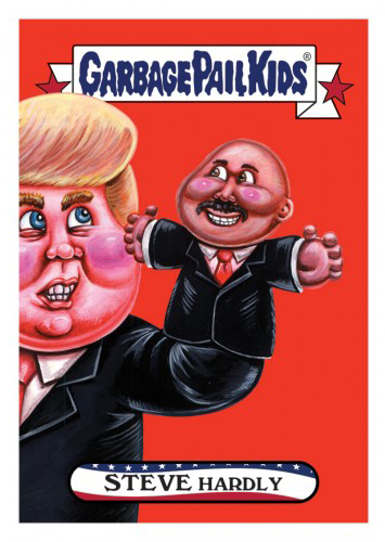 2016 Topps Garbage Pail Kids Dis-grace to the White House 148 Steve Hardly