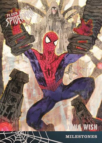 2017 Fleer Ultra Spider-Man Base Milestones