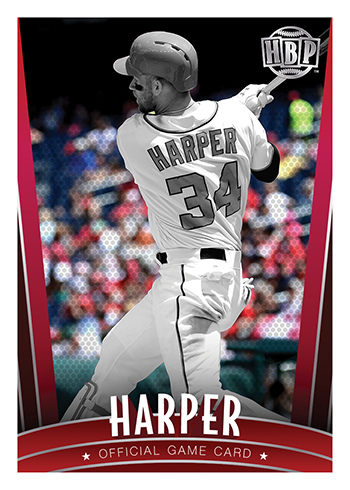 2017 Honus Bonus Baseball Bryce Harper
