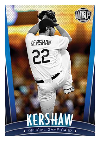 2017 Honus Bonus Baseball Clayton Kershaw