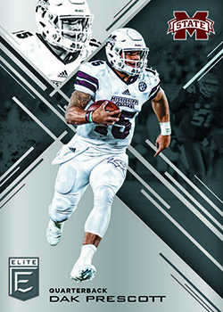 2017 Panini Elite Draft Picks Football Base feature