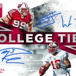 2017 Panini Elite Draft Picks Football College Ties Autographs