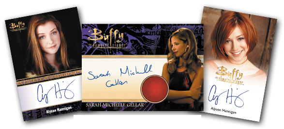 2017 Rittenhouse Buffy the Vampire Slayer Ultimate Collectors Set Series 2 Alyson Hannigan Sarah Michelle Gellar Autographs
