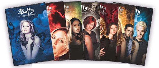 2017 Rittenhouse Buffy the Vampire Slayer Ultimate Collectors Set Series 2 Season Montage Cards copy