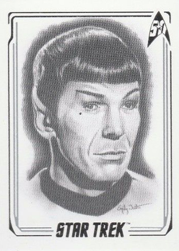 2017 Rittenhouse Star Trek 50th Anniversary ArtiFEX