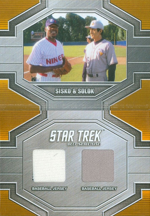 2017 Rittenhouse Star Trek 50th Anniversary Dual Relic
